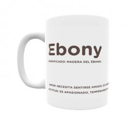 Taza - Ebony