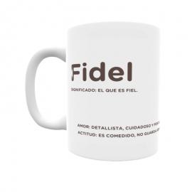 Taza - Fidel