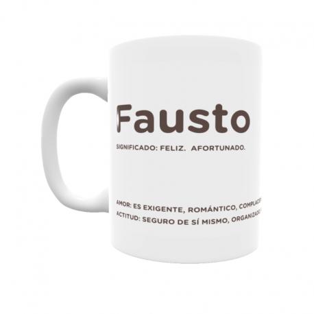 Taza - Fausto