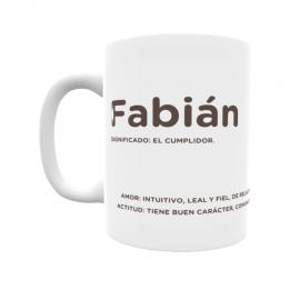 Taza - Fabián