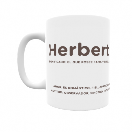 Taza - Herbert