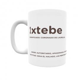 Taza - Ixtebe
