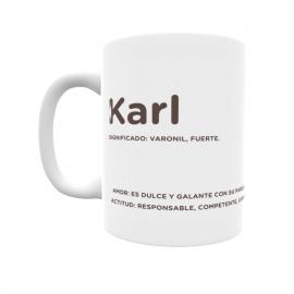 Taza - Karl