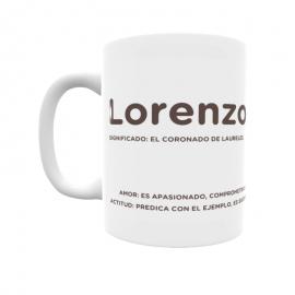 Taza - Lorenzo