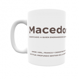 Taza - Macedonio