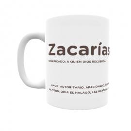 Taza - Zacarías