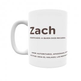 Taza - Zach