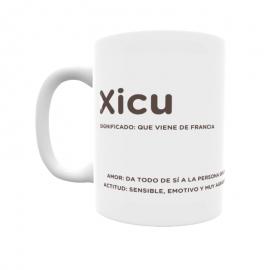 Taza - Xicu