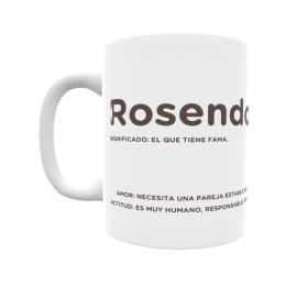 Taza - Rosendo