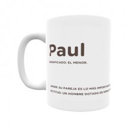 Taza - Paul