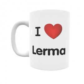 Taza - I ❤ Lerma