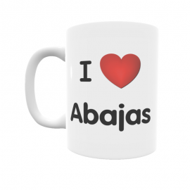 Taza - I ❤ Abajas