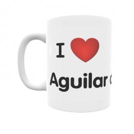 Taza - I ❤ Aguilar de Bureba