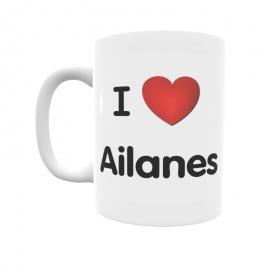 Taza - I ❤ Ailanes