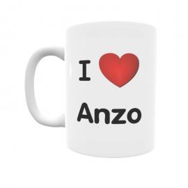 Taza - I ❤ Anzo