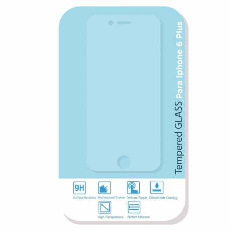 Protector de vidrio para Iphone 6 Plus