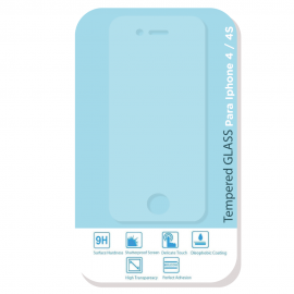 Protector de vidrio para Iphone 4 / 4S