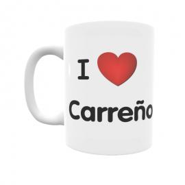 Taza - I ❤ Carreño