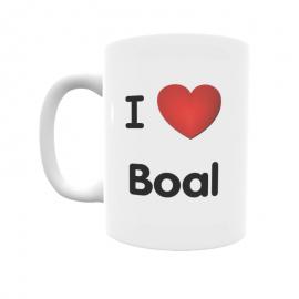 Taza - I ❤ Boal