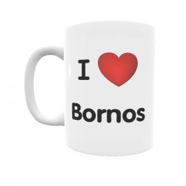 Taza - I ❤ Bornos