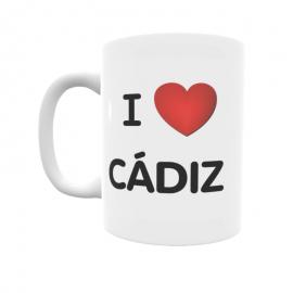 Taza - I ❤ Cádiz