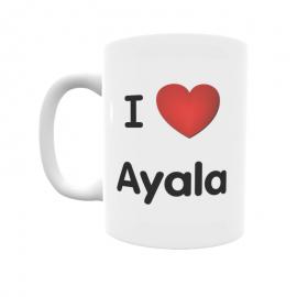 Taza - I ❤ Ayala