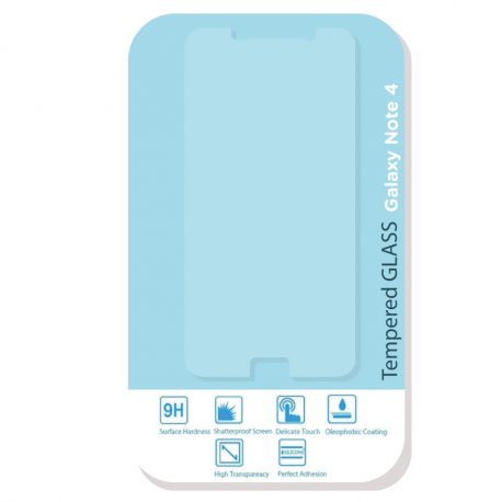 Protector de vidrio para Galaxy Note 4