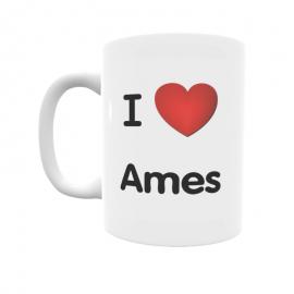 Taza - I ❤ Ames