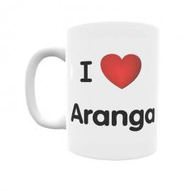 Taza - I ❤ Aranga