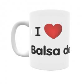 Taza - I ❤ Balsa de Ves