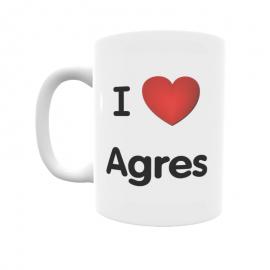 Taza - I ❤ Agres