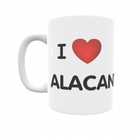 Taza - I ❤ Alacant