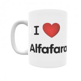 Taza - I ❤ Alfafara