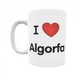Taza - I ❤ Algorfa