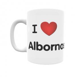 Taza - I ❤ Albornos