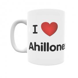 Taza - I ❤ Ahillones