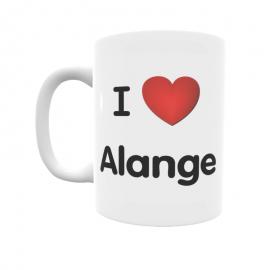 Taza - I ❤ Alange