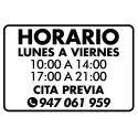 Horarios / 6 lineas