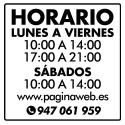 Horarios / 8 o más lineas