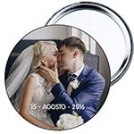 Chapa espejo regalo de boda