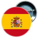 Chapa Bandera de España