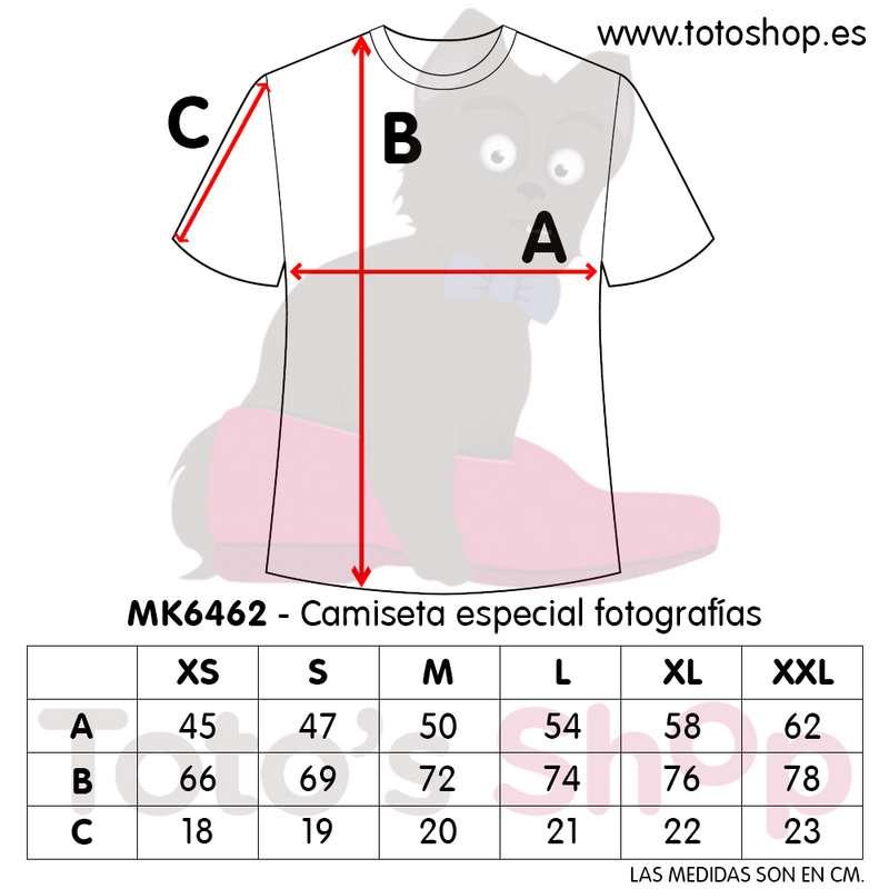 talla camisetas personalizadas con foto