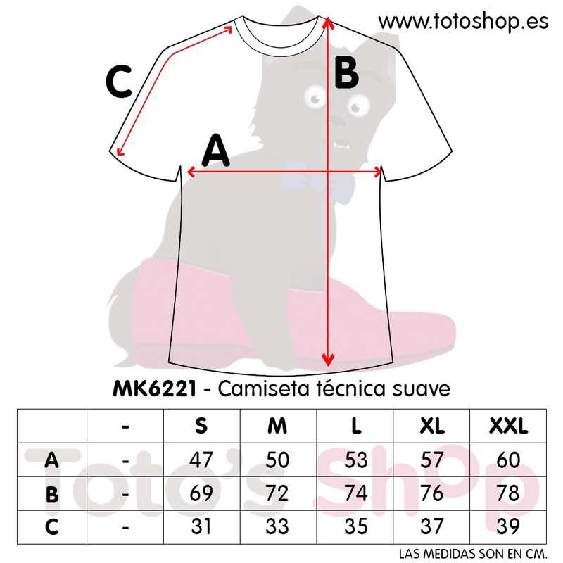 medidas camiseta personalizada con foto